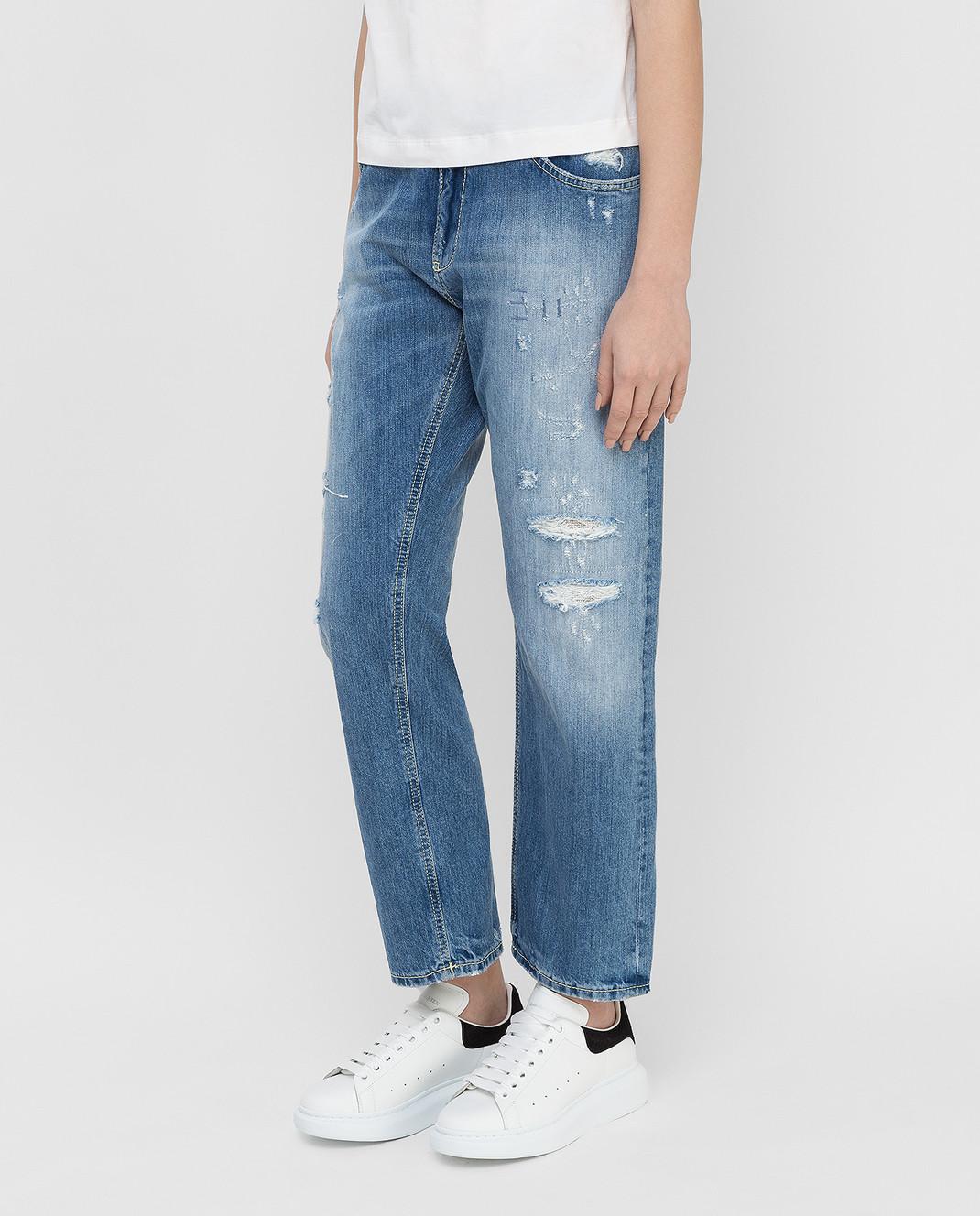 Dondup Голубые джинсы P611 изображение 3