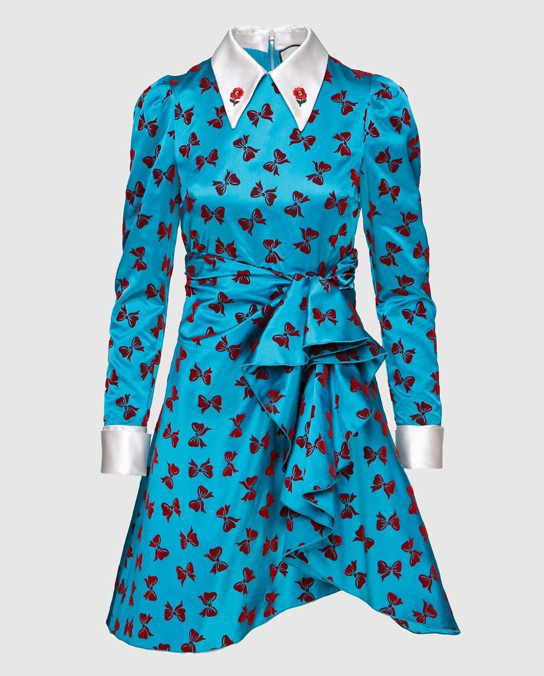 Gucci Платье из шелка 468859