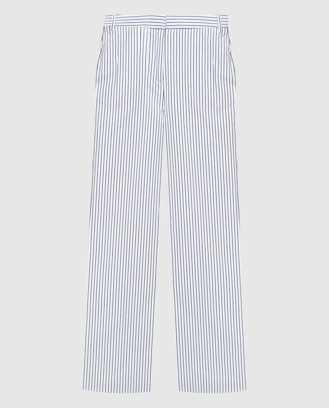 Victoria by Victoria Beckham Белые брюки TRVV070A