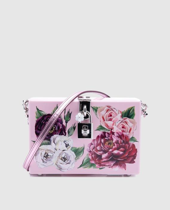 Кожаная сумка Dolce box