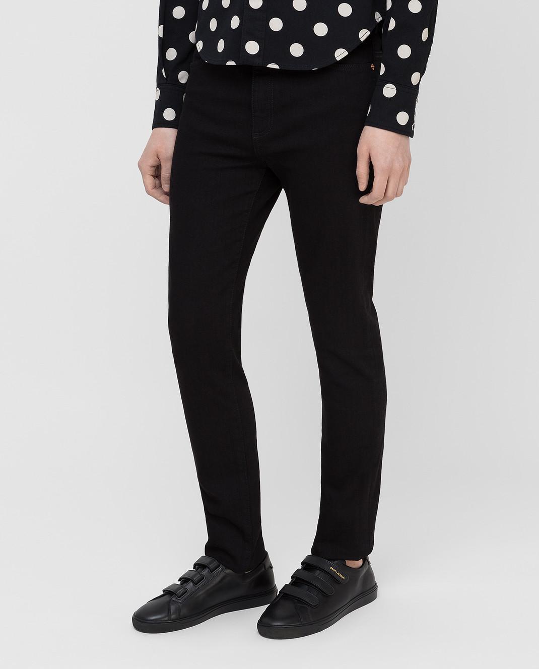Gucci Черные джинсы 543712XDAHN изображение 3