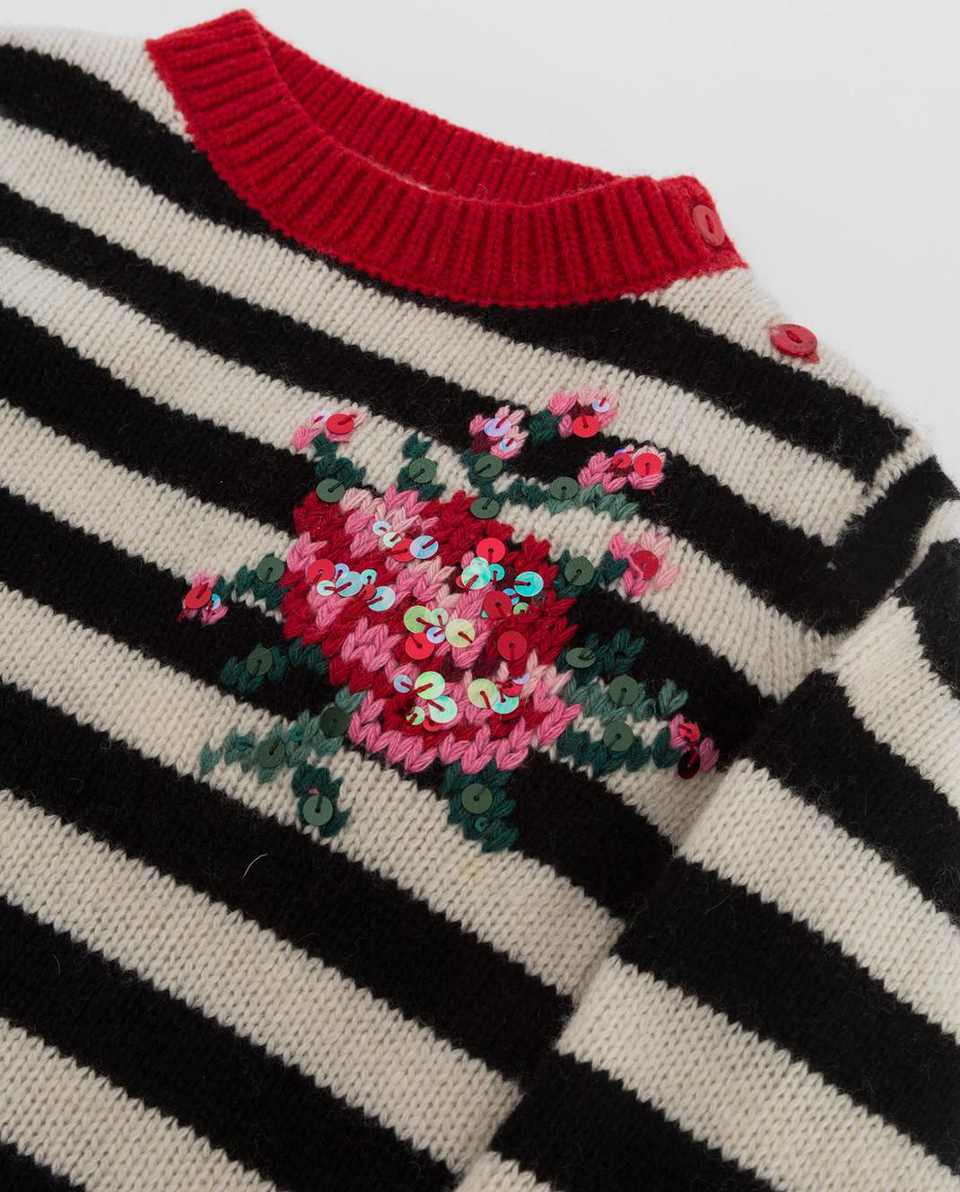 Twin Set Детский свитер из шерсти FA83GA изображение 3