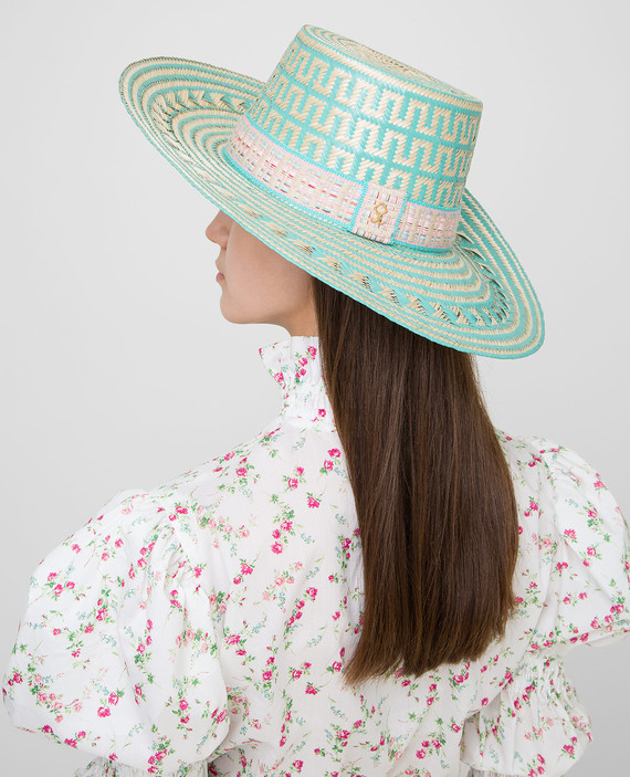 """Соломенная шляпа """"Nina"""" hover"""