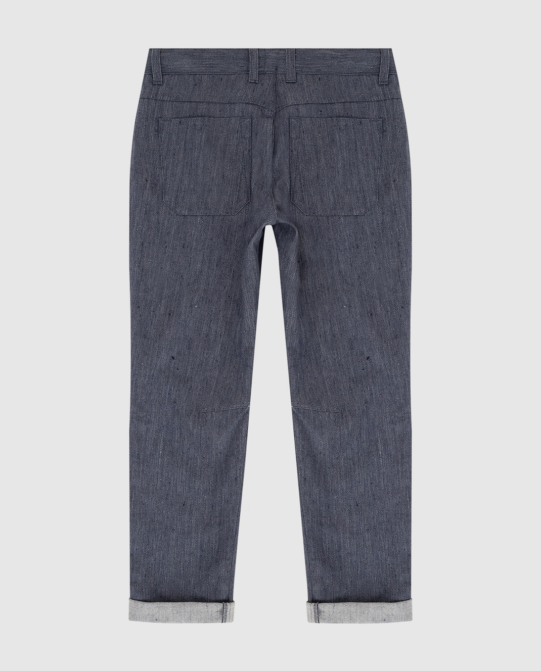 Loro Piana Детские темно-синие джинсы F1FAI0810 изображение 2