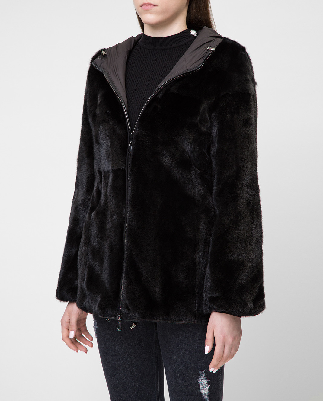 Real Furs House Двусторонняя шуба 941RFH изображение 3