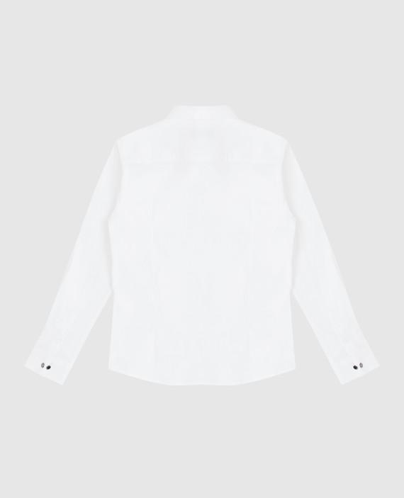 Детская белая рубашка hover