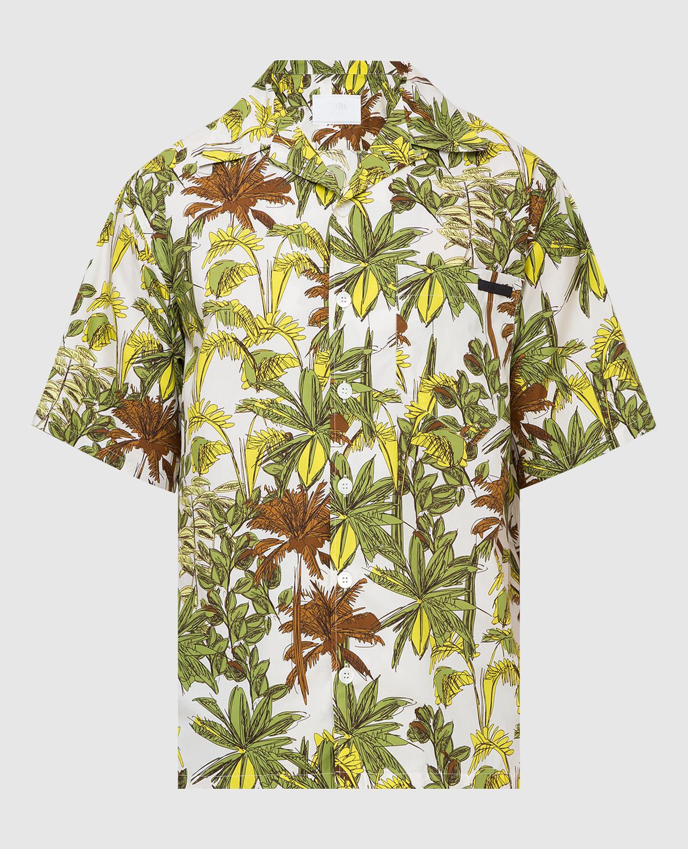 Светло-бежевая рубашка
