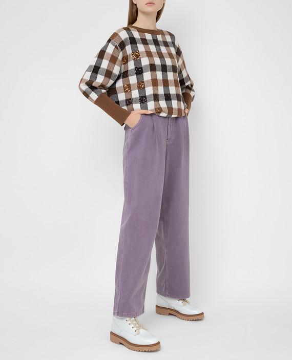 Сиреневые джинсы hover