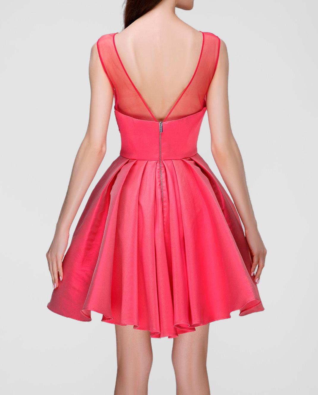 Zuhair Murad Розовое платье RDRS16047DS00 изображение 4
