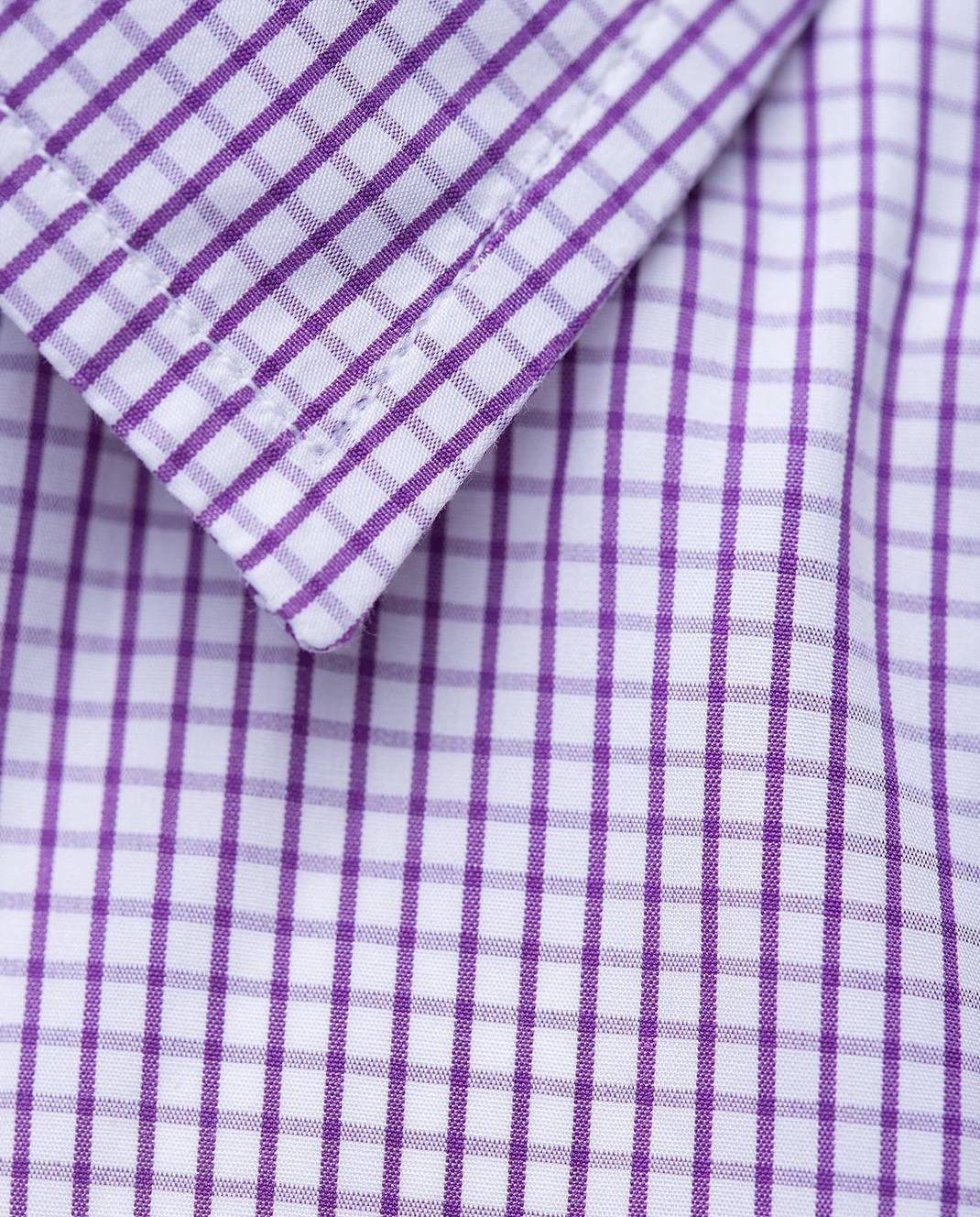 Luciano Barbera Сиреневая рубашка R10559071230 изображение 5