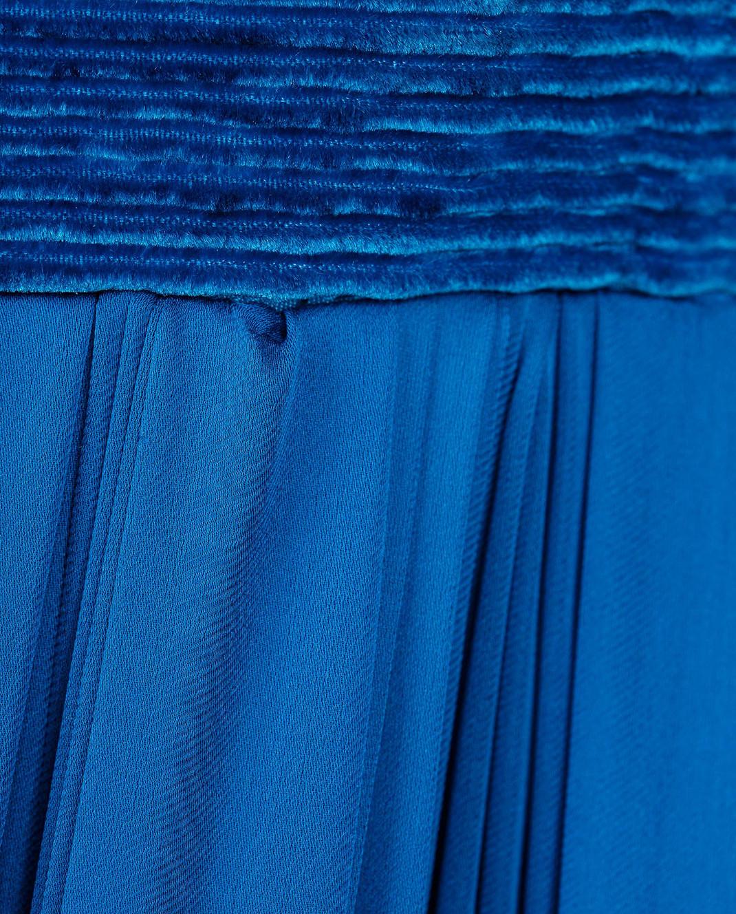 LARUSMIANI Синее платье из шелка 077581 изображение 5