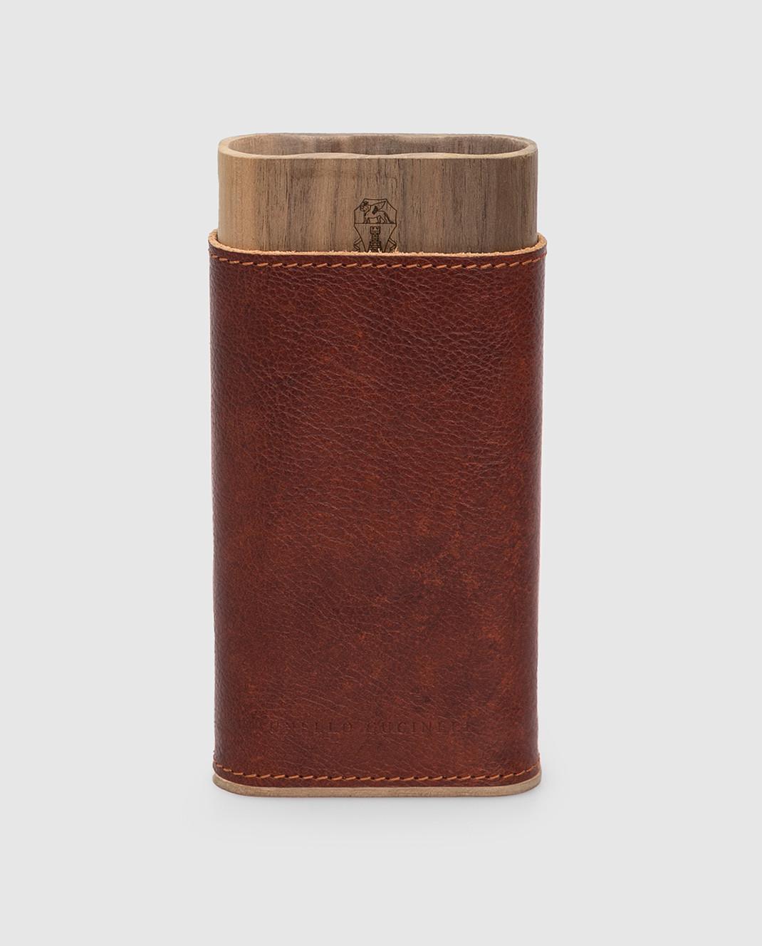 Brunello Cucinelli Тубус для сигар изображение 1