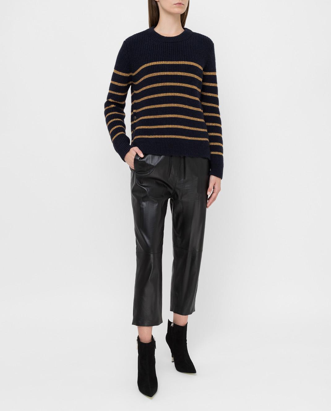 Twin Set Темно-синий свитер изображение 2