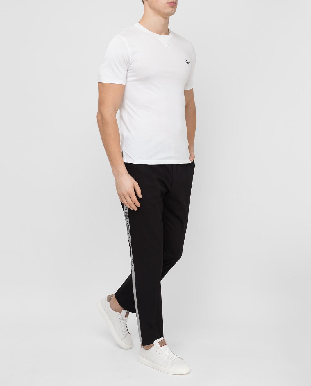 Dolce&Gabbana Черные брюки GYHGETFUFHT изображение 2
