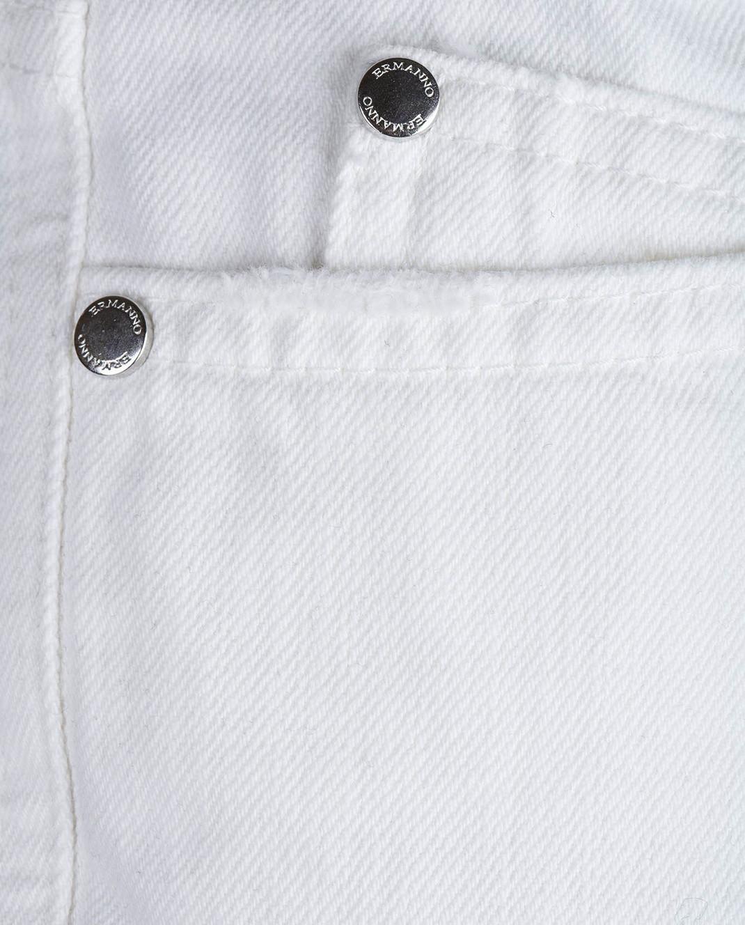 Ermanno Белые джинсы JL09 изображение 5