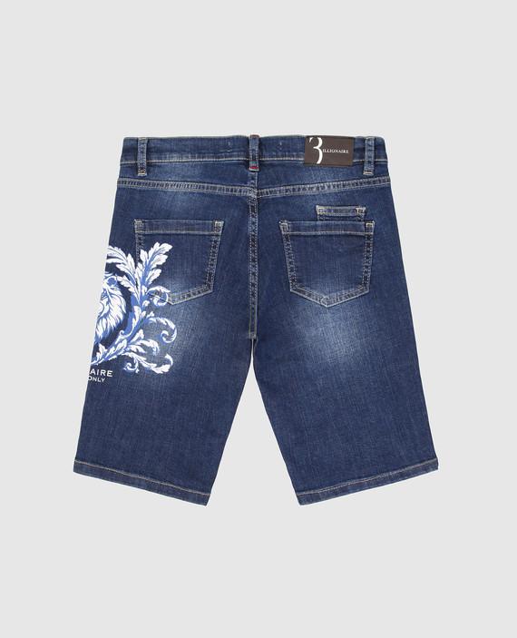 Детские синие джинсовые шорты hover