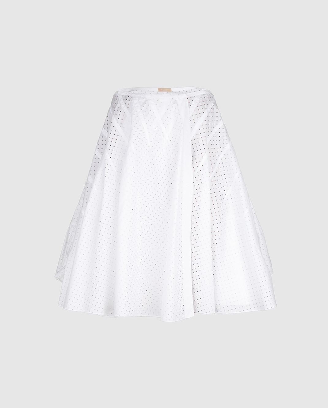 Azzedine Alaia Белая юбка 7S9J144RTL48