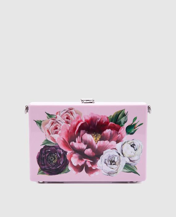 Кожаная сумка Dolce box hover