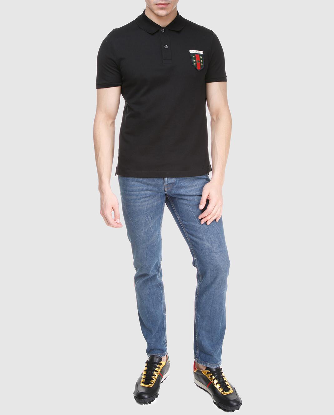 Gucci Синие джинсы 475273 изображение 2