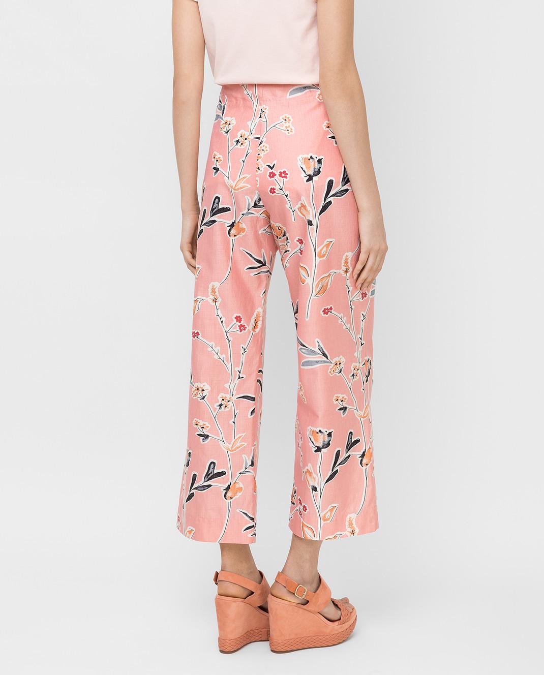 Marni Розовые брюки PAMAR02A00TCR58 изображение 4