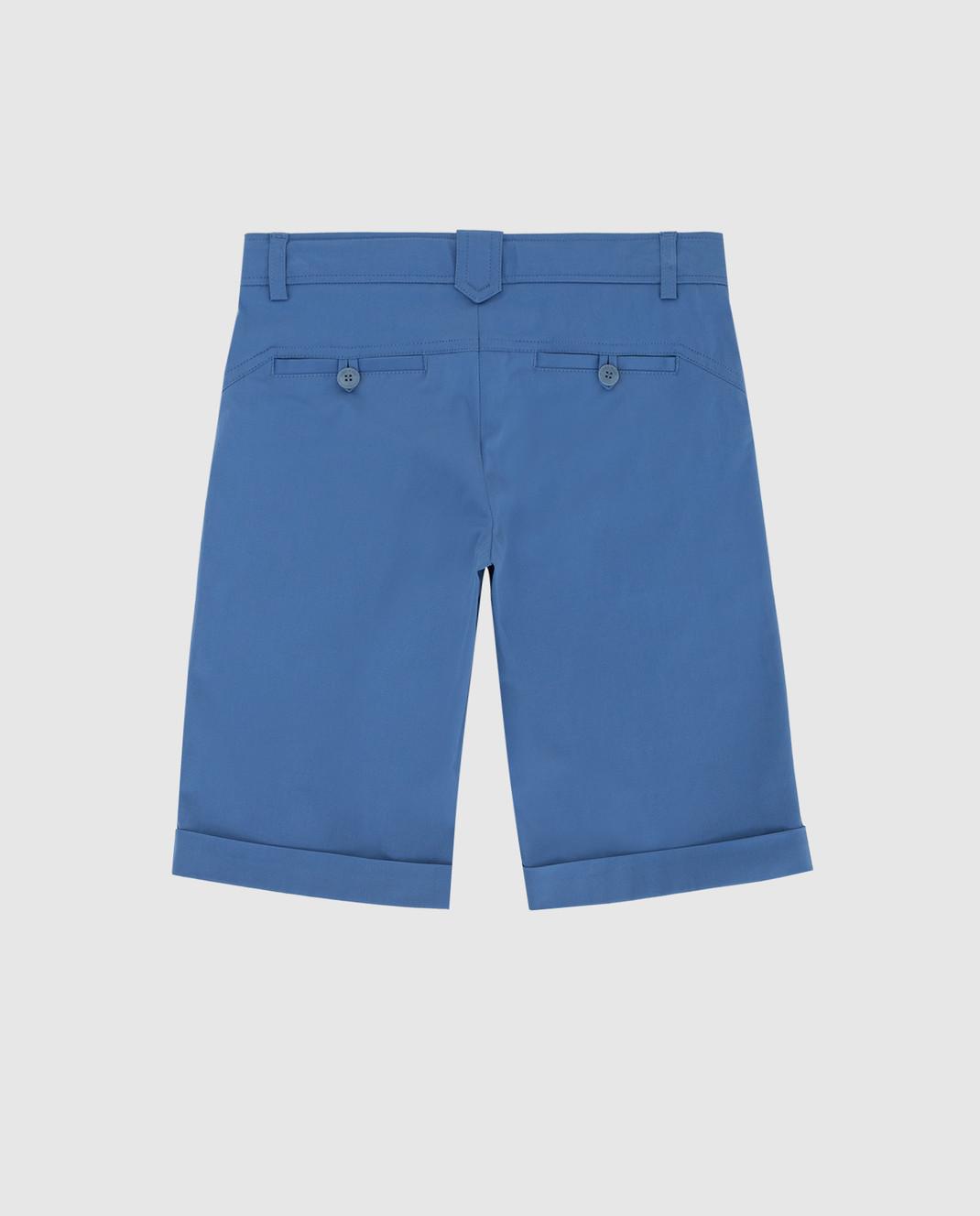 Loro Piana Детские синие шорты F1FAG1907 изображение 2