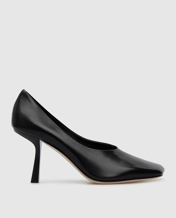 """Черные кожаные туфли """"Marcela"""""""