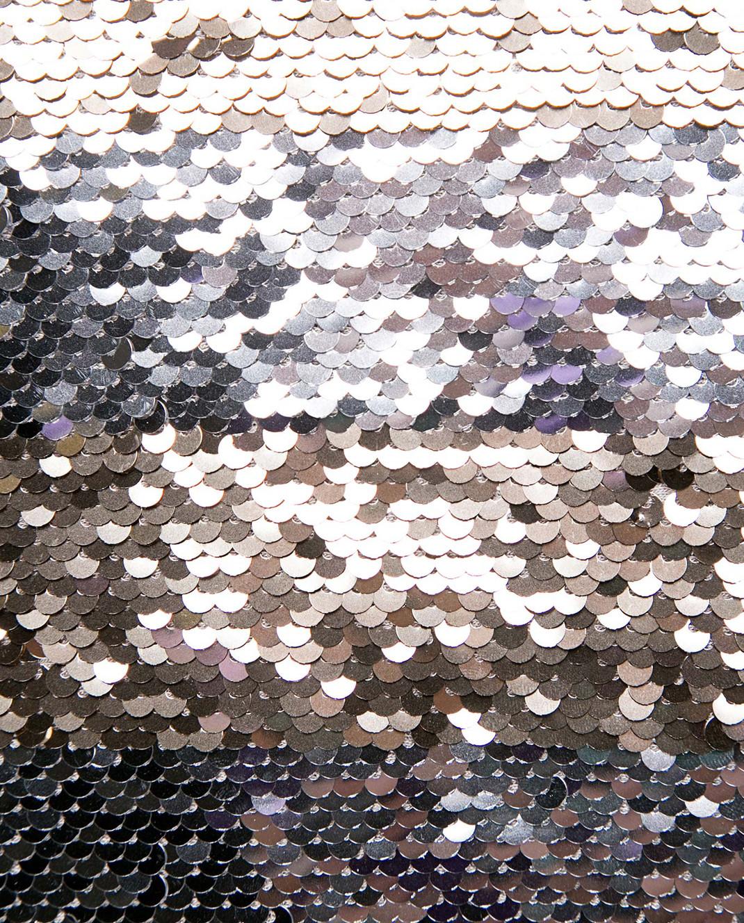 Balmain Серебристая блуза с пайетками 131513 изображение 5