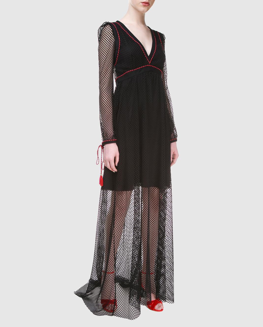 Philosophy di Lorenzo Serafini Черное платье A0441 изображение 3
