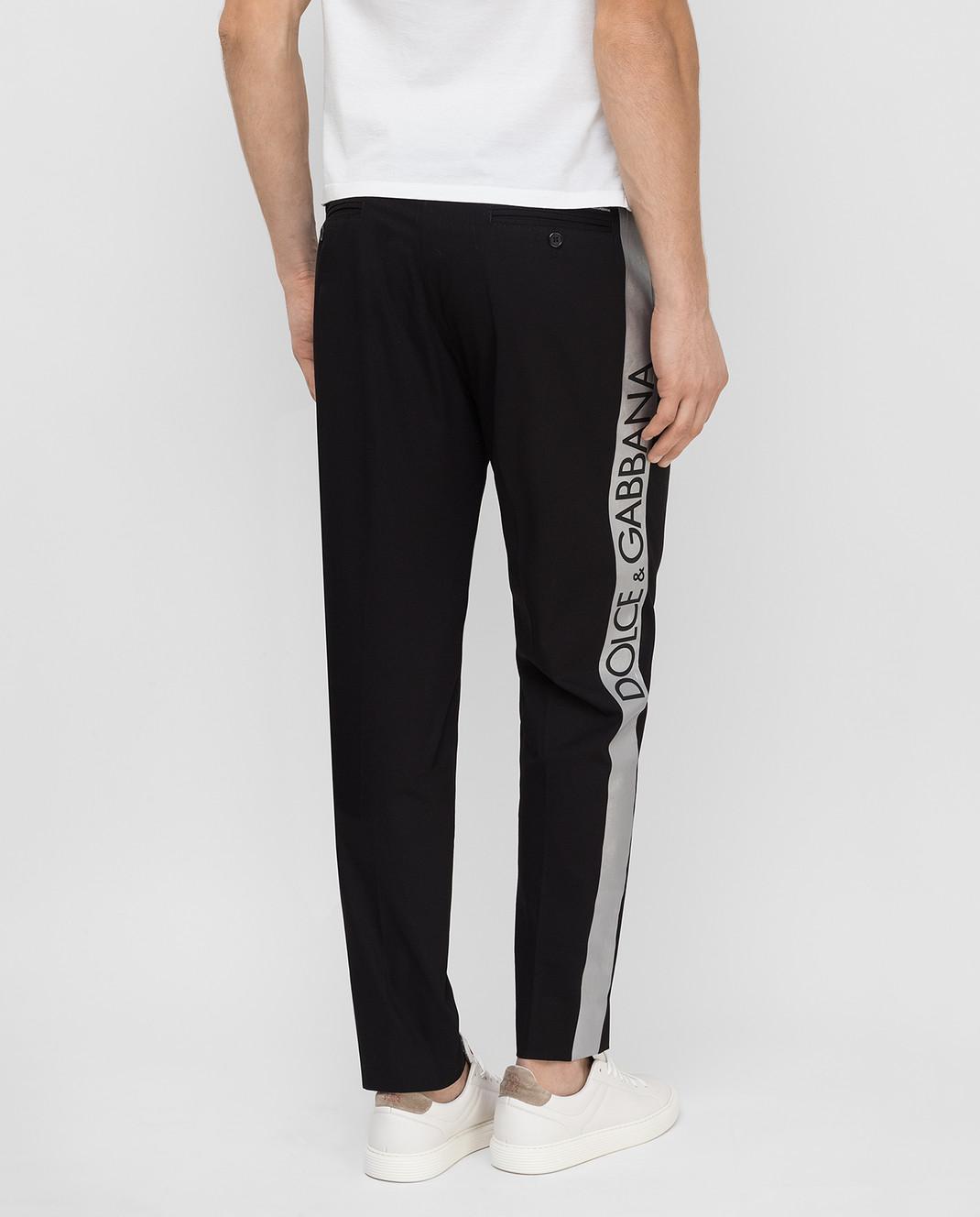 Dolce&Gabbana Черные брюки GYHGETFUFHT изображение 4
