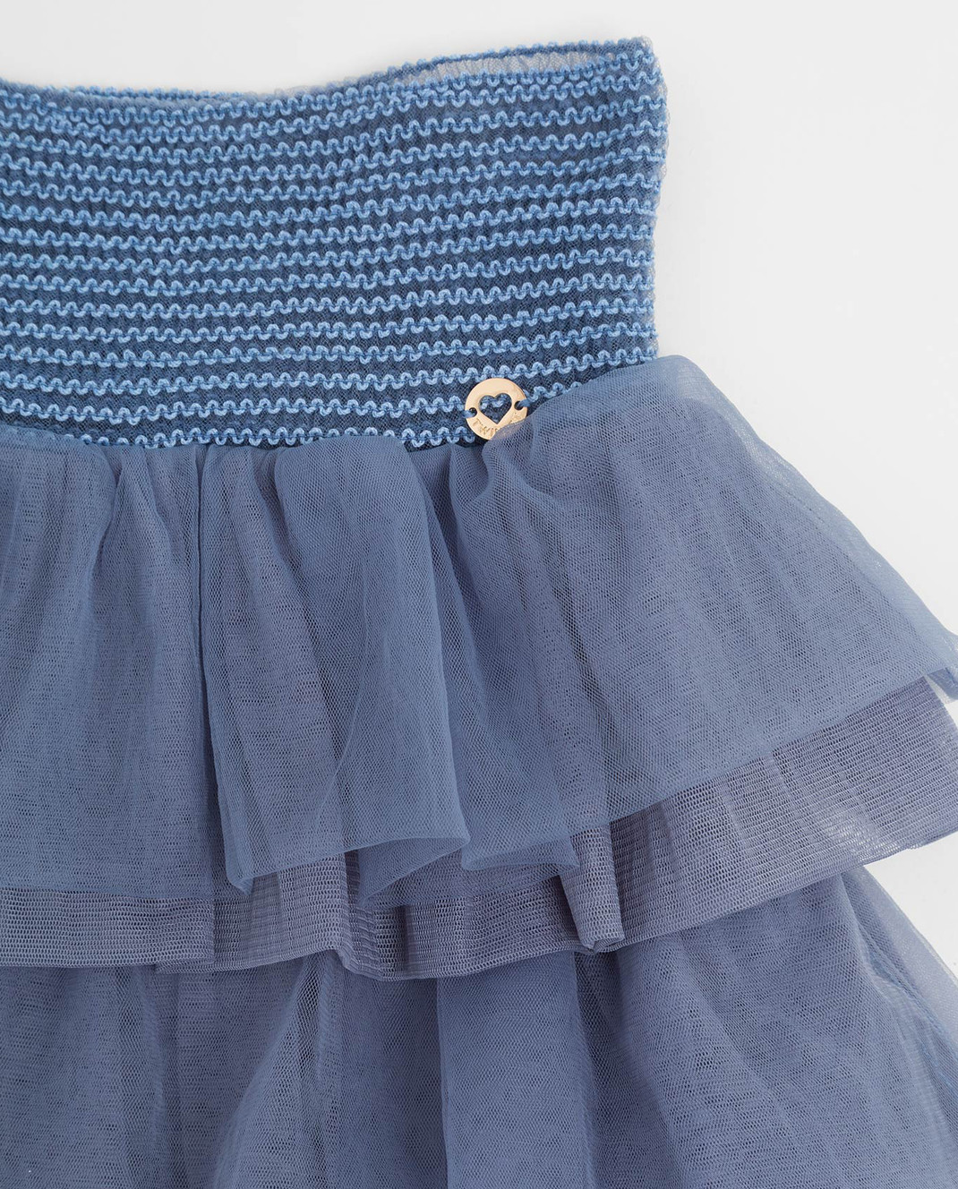 Twin Set Детская голубая юбка GA82JN610 изображение 3
