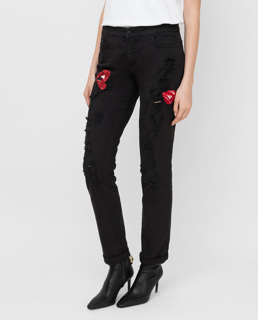 Giamba Черные джинсы изображение 3