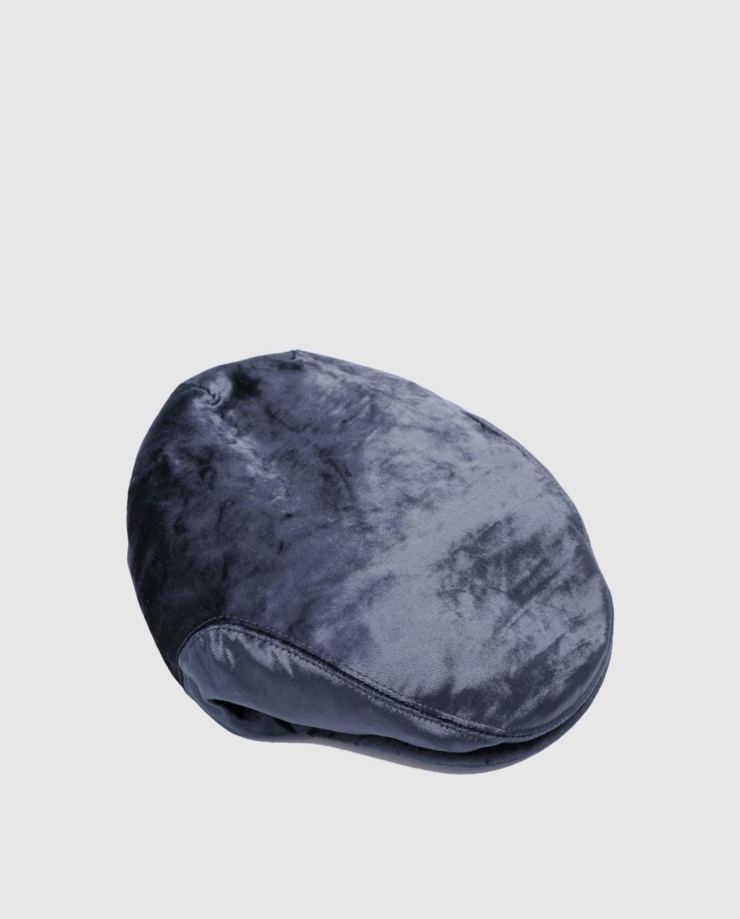 Brunello Cucinelli Темно-синее кепи MCAP99304