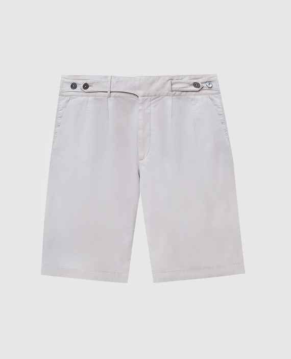 Светло-серые шорты