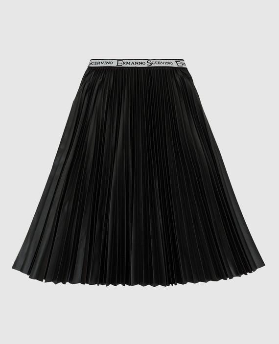 Детская черная юбка hover