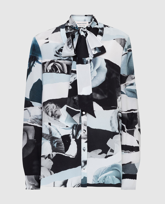 Блуза из шелка