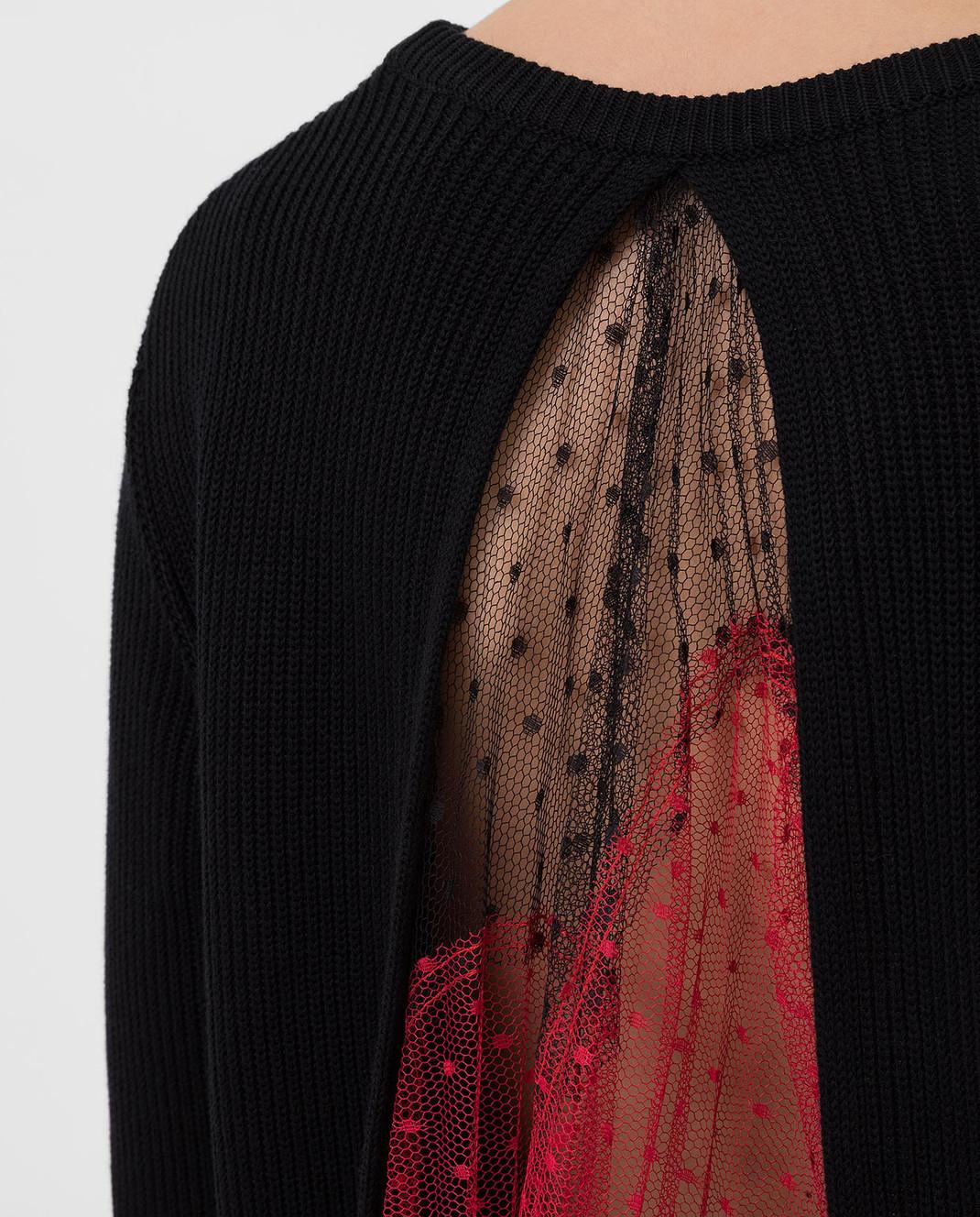 Red Valentino Черный свитер SR3KCB244ET изображение 5