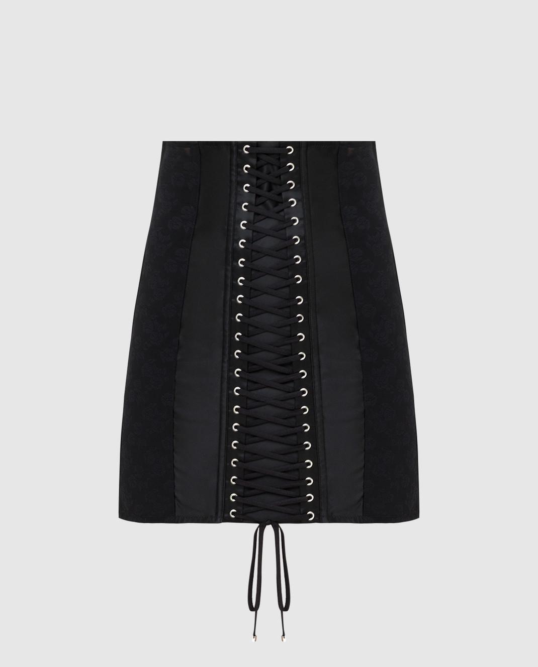 Dolce&Gabbana Черная юбка изображение 1