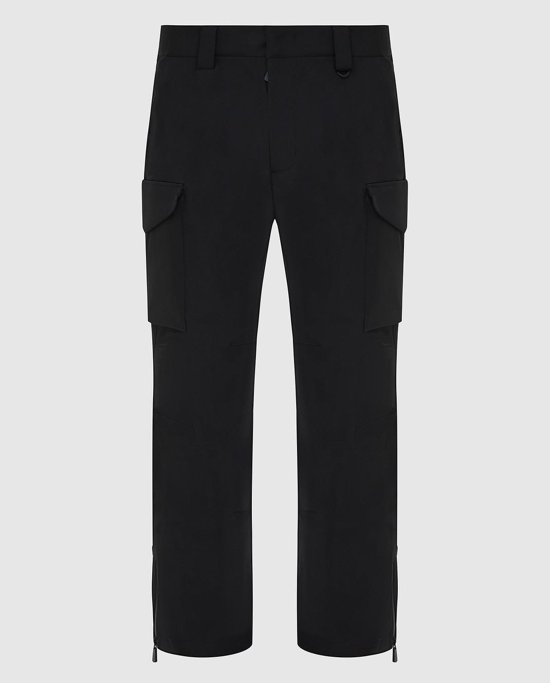 Moncler Grenoble Черные горнолыжные брюки изображение 1