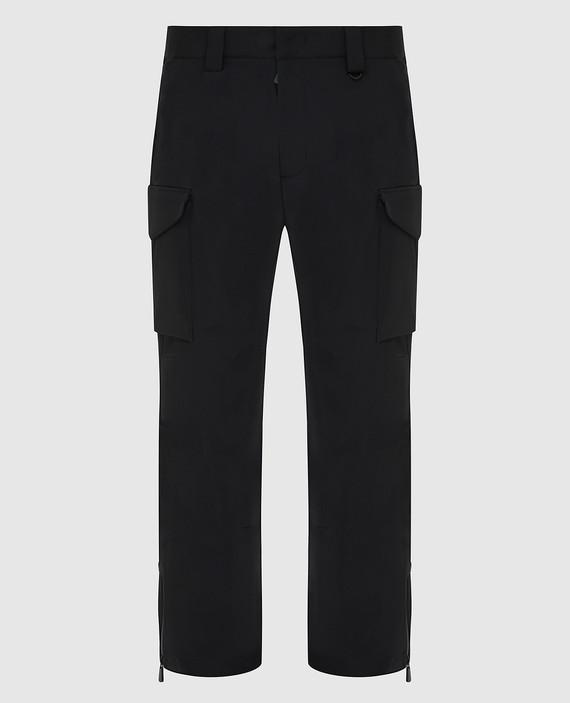 Черные горнолыжные брюки