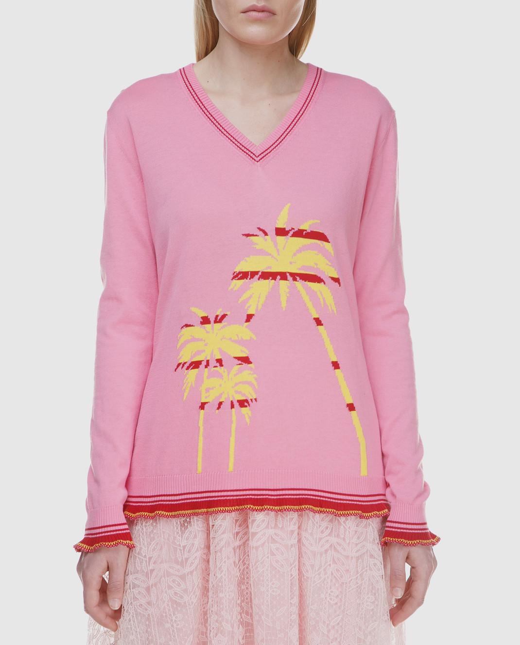 Ermanno Scervino Розовый пуловер изображение 3
