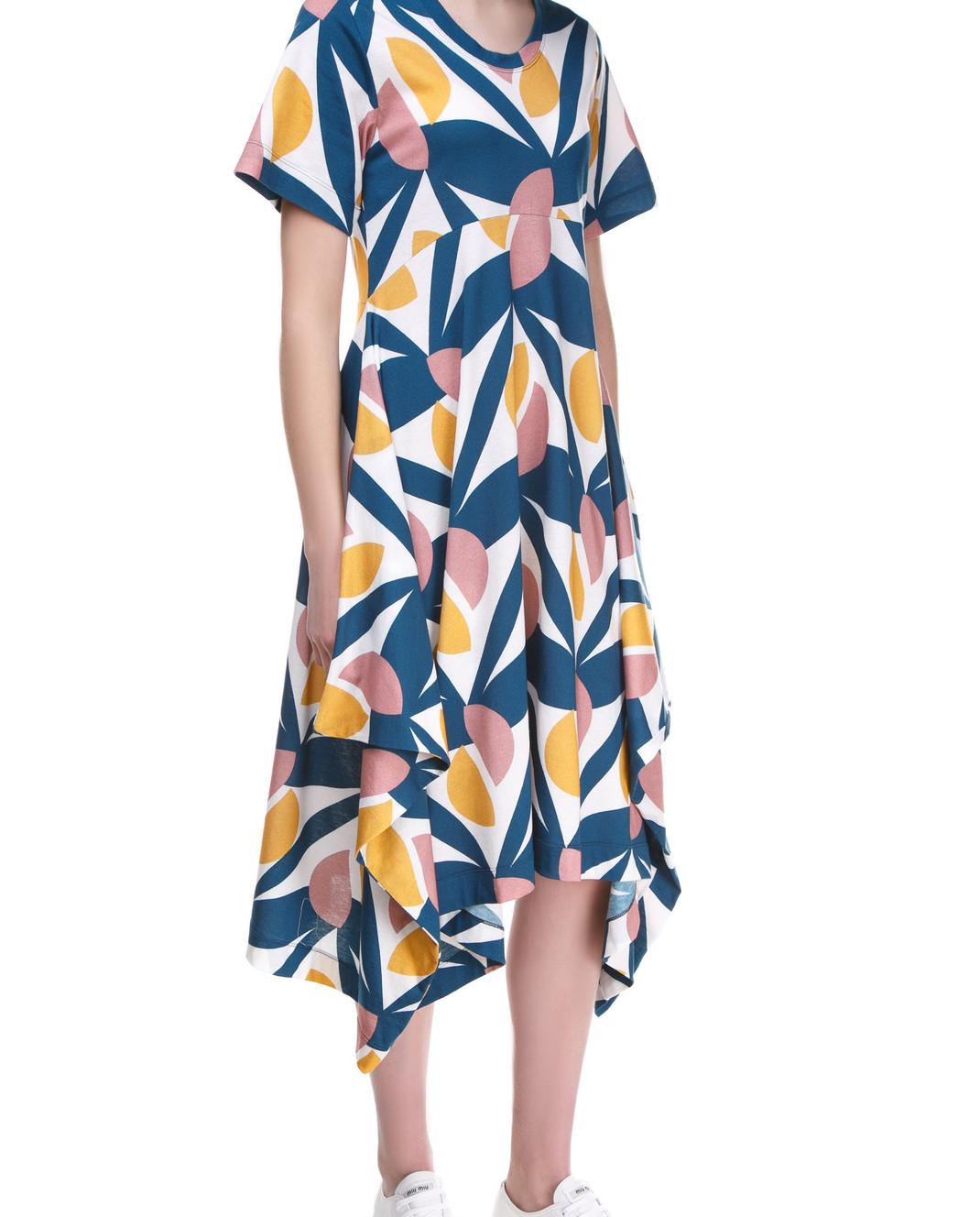 Tak.Ori Синее платье DR229 изображение 3