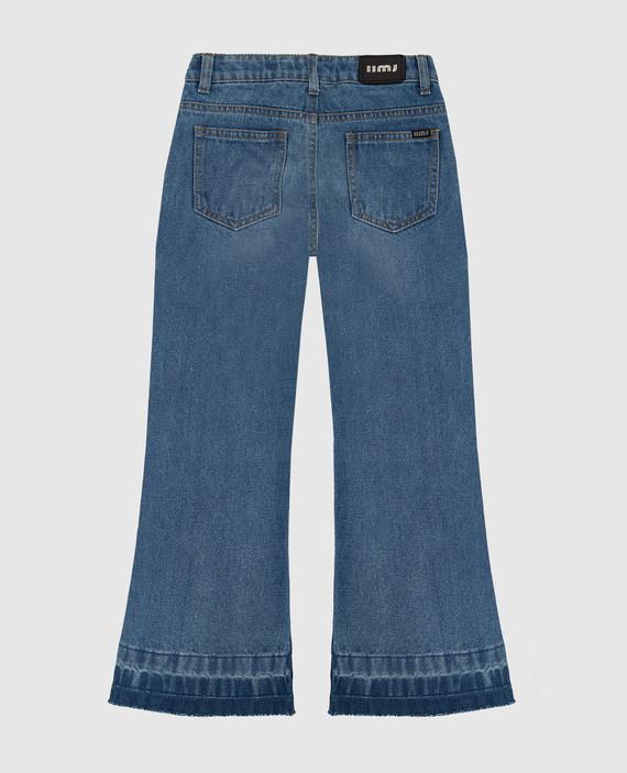 Детские голубые джинсы hover