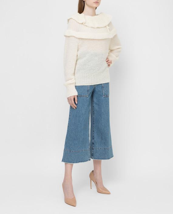 Светло-бежевый свитер hover