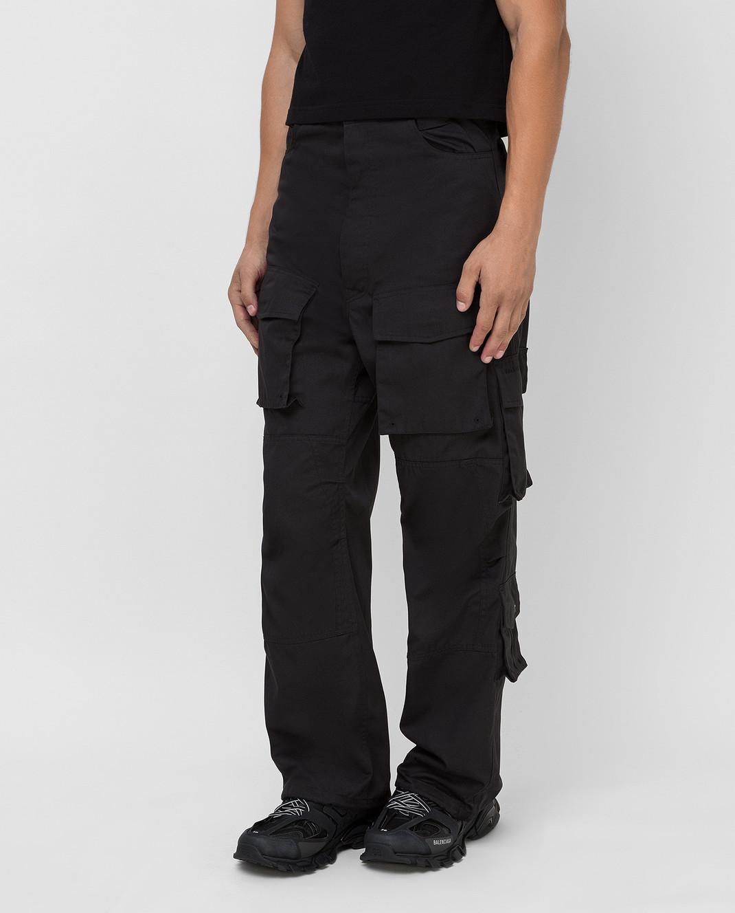 Balenciaga Черные брюки изображение 3