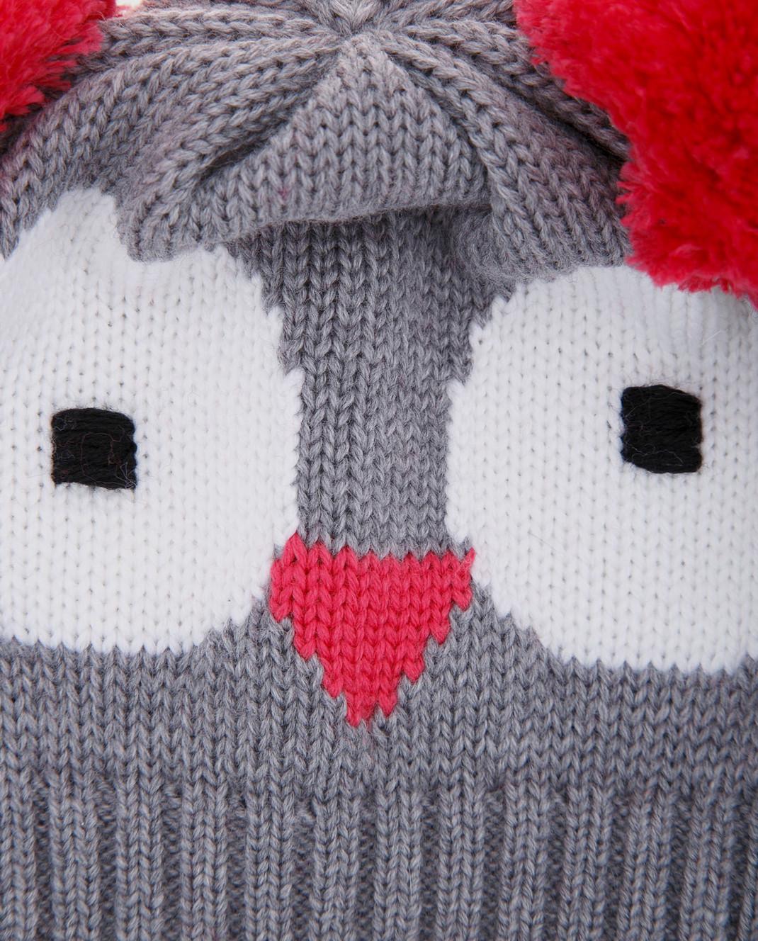 Catya Детская серая шапка 721561 изображение 3