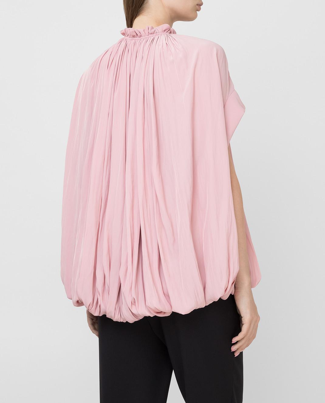 Lanvin Розовая блуза изображение 4