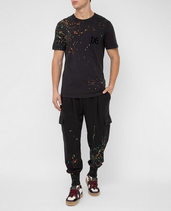 Темно-серые спортивные брюки hover