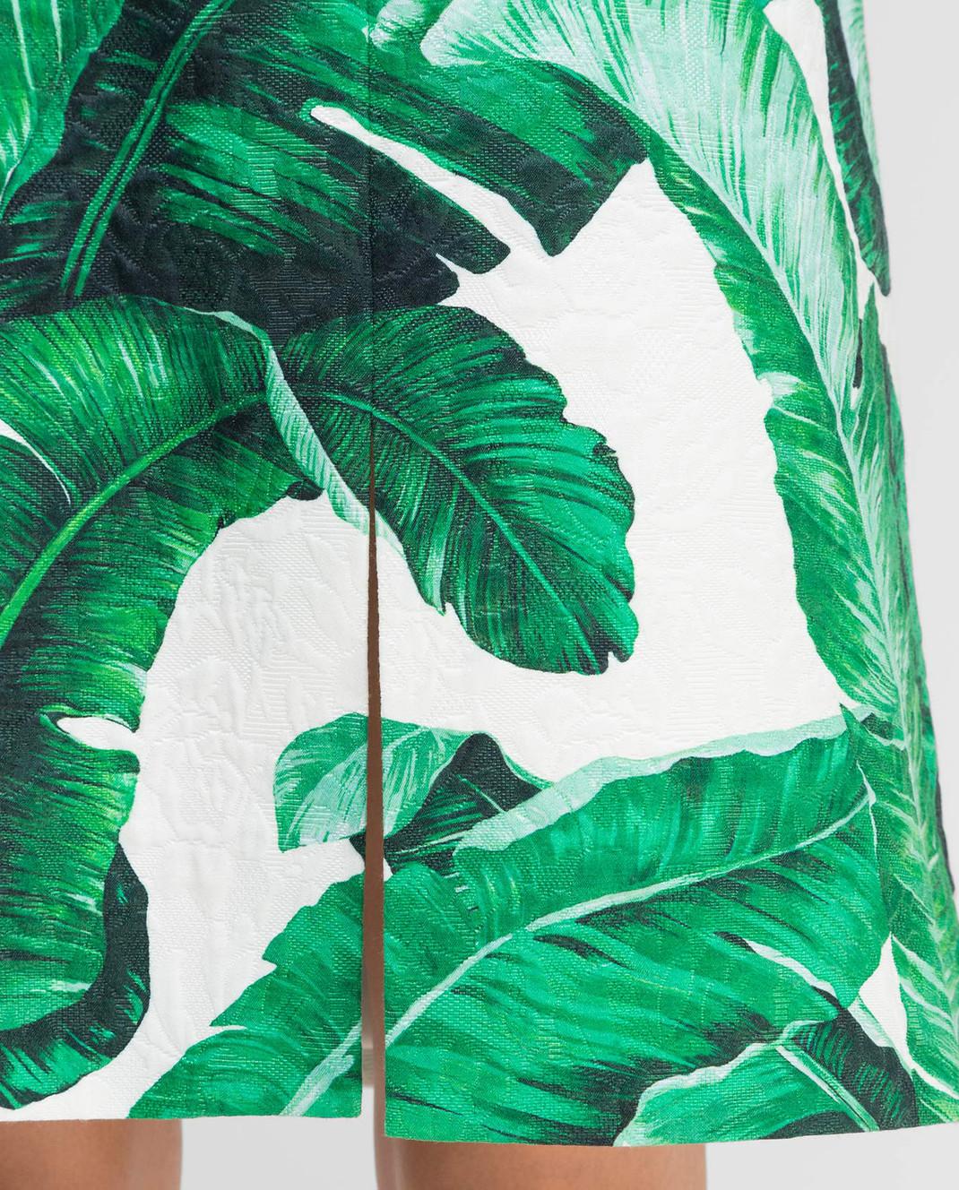 Dolce&Gabbana Зеленая юбка F4AKYTFSMY7 изображение 5