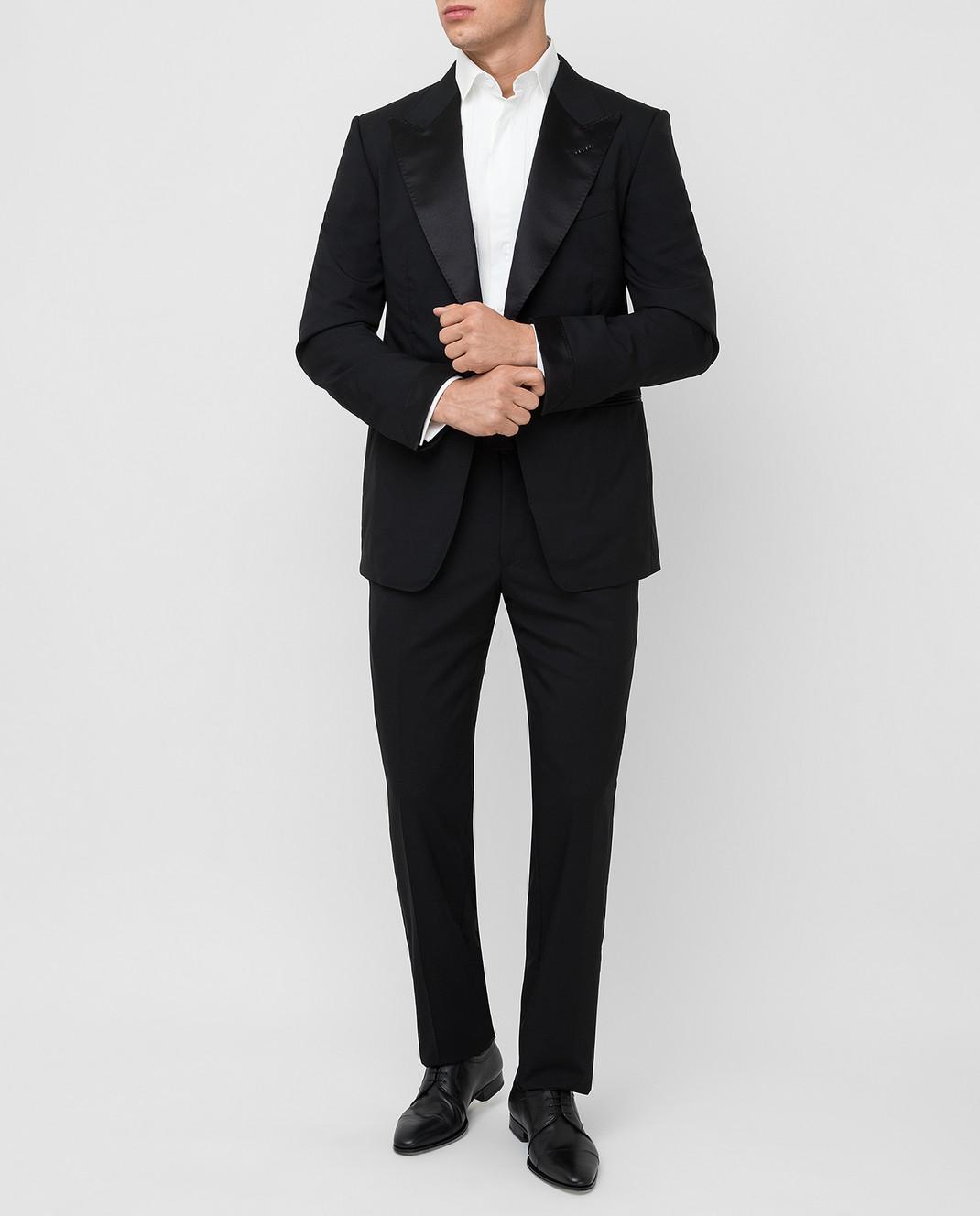 Tom Ford Черный костюм из шерсти изображение 2