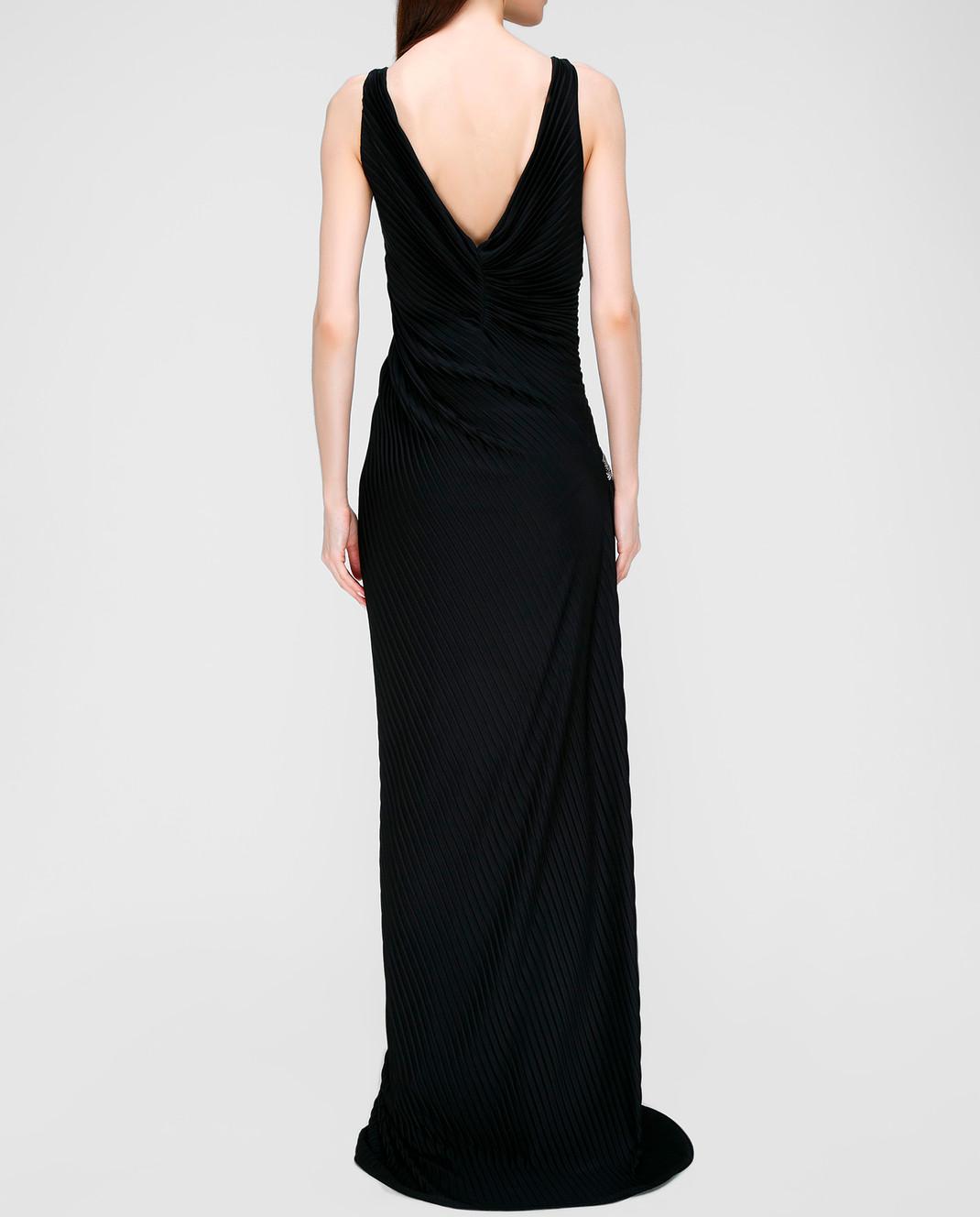Roberto Cavalli Черное платье изображение 4